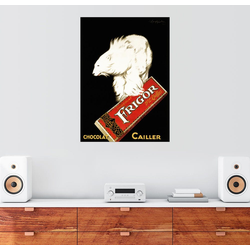 Posterlounge Wandbild, Frigor Schokolade (französisch) 100 cm x 130 cm