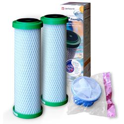 2x NFP Premium Carbonit, gratis 1 Waschmaschinen-Fusselfängersieb