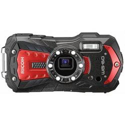 Ricoh WG-60 Digitalkamera 16 Megapixel Opt. Zoom: 5 x Rot, Schwarz Wasserdicht, Staubgeschützt