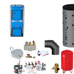 Atmos GSX70 Scheitholzvergaser / Holzvergaser | 70 kW | Komplettset 2
