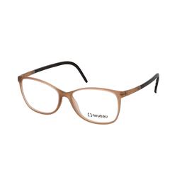 Neubau Eyewear TINA T084/75 6000, inkl. Gläser, Cat Eye Brille, Damen