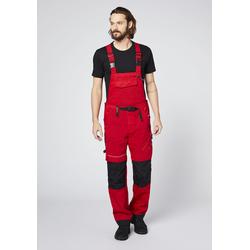 Expand Herren Latzhose rot Latzhosen Arbeitshosen Arbeits- Berufsbekleidung Hosen lang