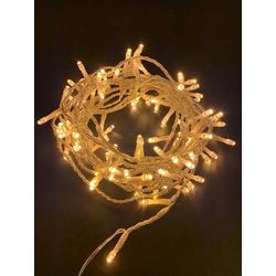 Natsen LED-Lichterkette, 100er LED Lichterkette 8M Lichterketten Warmweiss 8 Leuchtmodi für Indoor & Outdoor Wasserdicht IP44, Lichterkette für Party Garten Festival