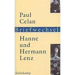 Briefwechsel. Hanne Trautwein-Lenz  Hermann Lenz  Paul Celan  - Buch