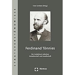 Ferdinand Tönnies - Buch