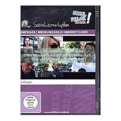 Umfrage / Meinungsbild: Mindestlohn, 1 DVD