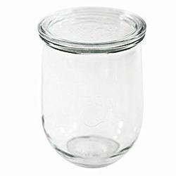 Einmachglas Tulpenform Einkochglas Rundrand Einmachglas 4 Stück
