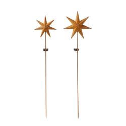 PureDay Solarstecker-Set, 2-tlg., Star