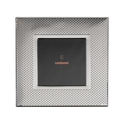Sambonet Silberrahmen Bilderrahmen Dew versilbert 18 x 18 cm Silberrahmen 59660L32