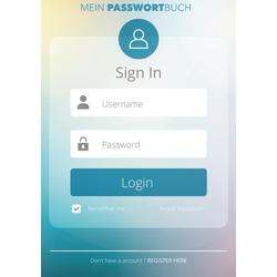 Mein Passwort Buch - Nie wieder Passwörter vergessen mit dem Passwort Manager und Passwortbuch als Buch von Passwörter Keeperhero