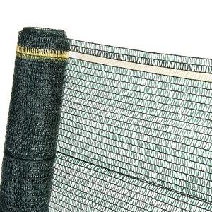HaGa® Schattiernetz 4m x 1m (Meterware) mit 40% Schattierwirkung in grün - Sonnenschutzgewebe Sichtschutz für Zaun - Abdunkelung im Gewächshaus oder Gemüsegarten