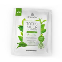 DERMASEL Totes Meer Tuchmaske grüner Tee 1 St
