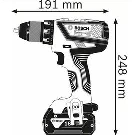 Bosch GSR 18V-28 Professional inkl. 2 x 3,0 Ah + L-Boxx 0615990L7K