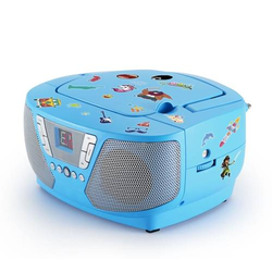 Tragbares CD/Radio - Kids blau