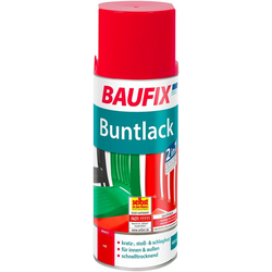 Baufix Sprühlack, 0,4 Liter, rot