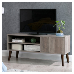 VASAGLE Lowboard LTV009M01, TV-Lowboards, für Fernseher bis zu 43 Zoll, greige
