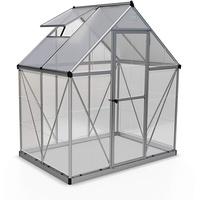 Palram Hybrid Alu Polycarbonat 0,7 mm/Dach HKP 4 mm 4 mm 2,3 m2 inkl. Stahlfundament