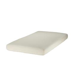 Zöllner Spannbettlaken für Kinderbetten, Jersey ¦ creme ¦ 100% Baumwolle