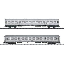 TRIX H0 T23147 H0 2er-Set Personenwagen Silberlinge der DB