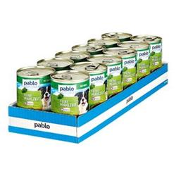 Pablo Hundefutter Wild 400 g, 12er Pack