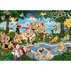 Puzzle B.Cook Sommerfest, 1.000 Teile