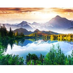 Fototapete Mountain Lake, glatt 2 m x 1,49 m