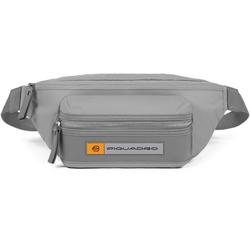 Piquadro PQ-Bios Gürteltasche 33 cm grey