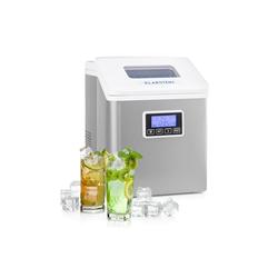 Klarstein Eiswürfelmaschine Clearcube LCD Eiswürfelmaschine Klareis 15-20kg/24h weiß
