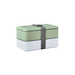 BUTLERS Vorratsdose SNACK PACK Lunchbox inkl. Besteck L 19 x B 11cm, Polypropylen, Polyethylen, Polystyrene
