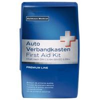 Holthaus Medical Verbandkasten Premium blau DIN 13164