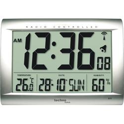 Wanduhr WS 8009 mit Jumbo LCD-Anzeige