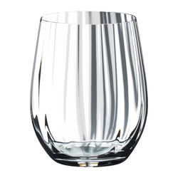 RIEDEL Glas Gläser-Set Optic O Whisky 2er Set 344 ml, Kristallglas weiß