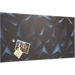 Sigel Magnettafel, rahmenloses Design 91 cm x 1,5 cm x 46 cm