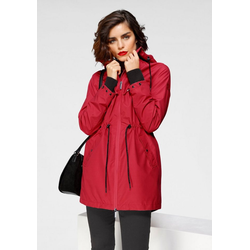 Tamaris Regenjacke in Parka-Optik rot 44