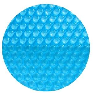 Solarplane für Rundbecken 200 μm light-blue 550 cm rund