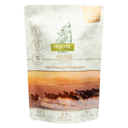 isegrim® Roots FIELD Pferd pur, 14 x 410 g, Hundefutter