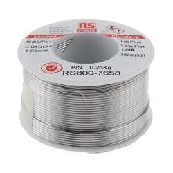 RS PRO NC600 Lötzinn 60%Sn 40%Pb, Ø 1.01mm / 250g