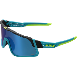 Just1 Sniper Alexey Lutsenko Replica Sunglasses, blue-yellow, Größe One Size