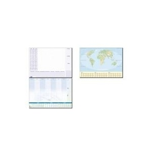 "sigel Papier-Schreibunterlage ""Lilac"", 595 x 410 mm - für den Markt: D - L - A - CH (HO355)"