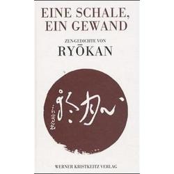Eine Schale ein Gewand als Buch von Meister Ryokan