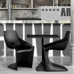 Kristalia PULP Stuhl Farbe schwarz