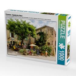 Provence - Oppède lex Vieux Lege-Größe 64 x 48 cm Foto-Puzzle Bild von Thomas Seethaler Puzzle
