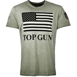 Top Gun Search, T-Shirt - Grün - M