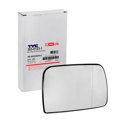 TYC Außenspiegelglas 303-0123-1 Spiegelglas,Spiegelglas, Außenspiegel BMW,X5 E53