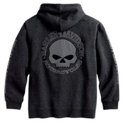 HD Zip Hoodie Skull 2XL