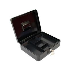 Metall Geldkassette GKG schwarz 30x24x9 cm Geldkasse