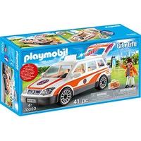 Playmobil City Life Notarzt-PKW mit Licht und Sound 70050