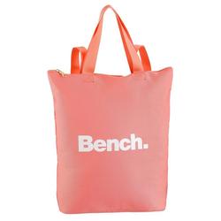 Bench. Cityrucksack, als Tasche oder Rucksack tragbar rosa
