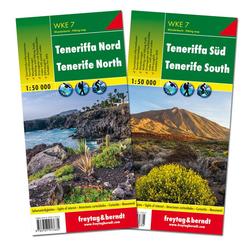 Teneriffa Nord und Süd Wanderkarten Set 1:50.000
