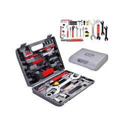 COSTWAY Werkzeugkoffer Werkzeugkoffer (44 Stück), 44 TLG. Fahrrad Werkzeugkoffer, Fahrradwerkzeug